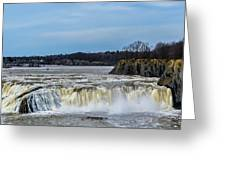 Cohoes Falls New York Greeting Card