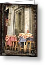 Coimbra Cafe Greeting Card
