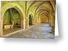 Coimbra Old Cathedral Greeting Card