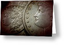 Coin Collector I Greeting Card