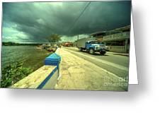 Cojimar Truck  Greeting Card