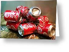 Coke Greeting Card