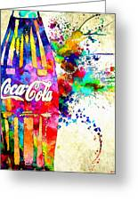 Coke Greeting Card