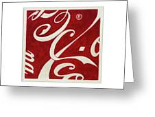 Cola - Coca Greeting Card