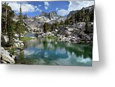 Colby Lake Outlet - Sierra Greeting Card
