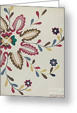 Colcha Plate Greeting Card