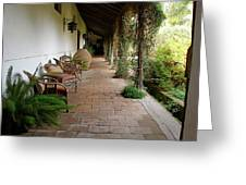 Colchagua Valley Porch Greeting Card