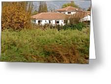 Colchagua Valley Villa  Greeting Card