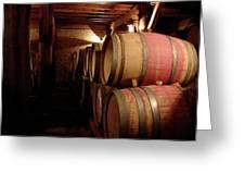 Colchagua Valley Wine Barrels II Greeting Card