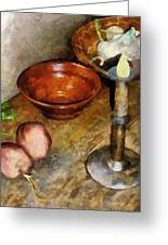Cold Comfort Kitchen Greeting Card