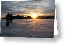 Cold Morning Greeting Card