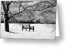 Cold Seat Greeting Card