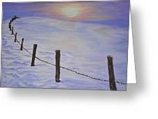 Cold Sience Greeting Card