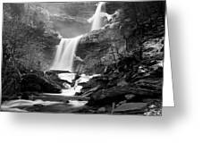 Cold Spring Morning At Kaaterskill Falls II Greeting Card
