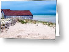 Cold Storage Beach Greeting Card