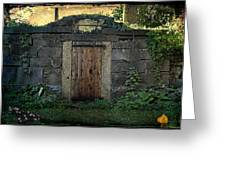 Cold Storage Crypt Greeting Card