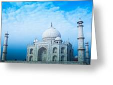 Cold Taj Greeting Card
