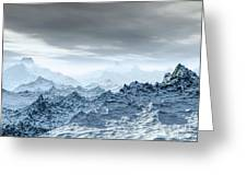 Cold Weather Environment Greeting Card