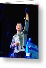 Coldplay8 Greeting Card