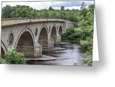 Coldstream Bridge 1807 Greeting Card