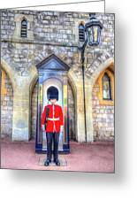 Coldstream Guard Greeting Card