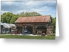 Coldwater Vintage Carriage House Greeting Card