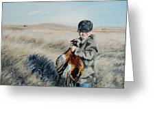 Cole's Pheasant Greeting Card by Conny Riley