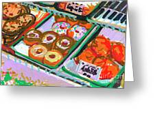 Coligny Donuts Greeting Card