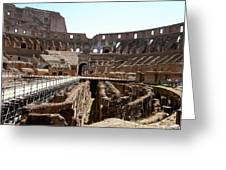 Coliseum 2 Greeting Card