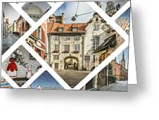 Collage Of Riga Greeting Card
