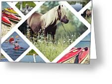 Collage Of Suwalki  Greeting Card