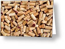 Collection Of Corks Greeting Card