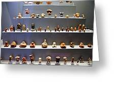 Collection Of Figurines Greeting Card