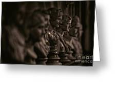 Collection Of Roman Sculptures #2 Greeting Card