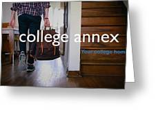 College Apartment Near Miami University Greeting Card