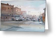 College Avenue - Appleton Greeting Card