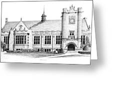 College House Greeting Card