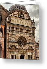 Colleoni Chapel Greeting Card