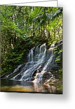 Colliery Falls Greeting Card