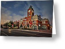 Collingwood Townhall Greeting Card
