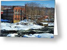 Collins Axe Factory 5 Greeting Card
