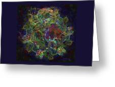 Collision Of Worlds Greeting Card