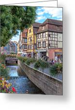 Colmar France Greeting Card
