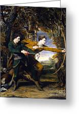 Colonel Acland And Lord Sidney Archers Greeting Card