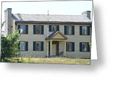 Colonel Davenport House Greeting Card