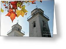 Colonia Del Sacramento Church Greeting Card
