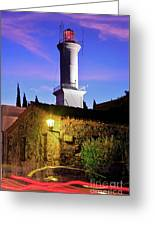 Colonia Lighthouse Greeting Card