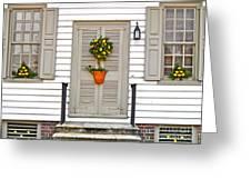 Colonial Christmas Greeting Card