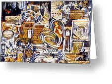 Colonial Heritage - Panel 1 Greeting Card