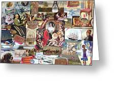 Colonial Heritage - Panel 2 Greeting Card
